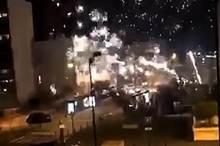 حمله مهاجمان ناشناس به یک اداره پلیس در فرانسه با فشفشه!