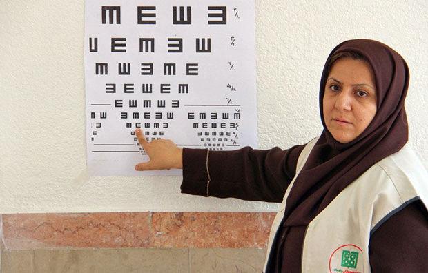 طرح غربالگری چشم در ۱۲۰ پایگاه سنجش ایرانشهر در حال اجراست