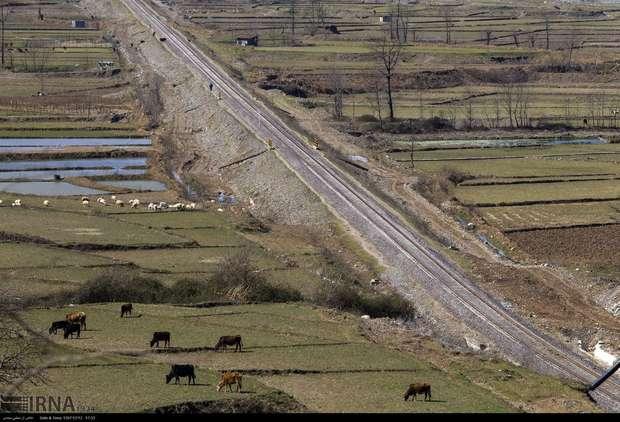 حمل و نقل ریلی، گامی مهم در توسعه زمین منظر گردی گیلان
