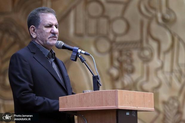 جهانگیری: نمیتوان بدون ایران امنیتی برای منطقه متصور بود/ با هر دستگاهی که هزینه بی جا و بریز و بپاش داشته باشد برخورد خواهد شد/ کشور در مقطع کنونی نیازمند تصمیمات مهم برای دستیابی به توسعه است