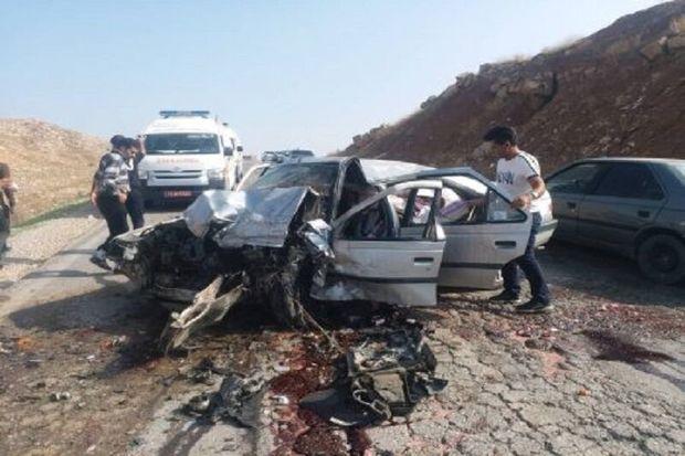 تصادف در جاده گچساران به گناوه یک کشته برجای گذاشت