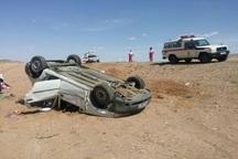تصادف پراید یک کشته و 2 مصدوم داشت