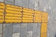 مصوبه ای درخصوص حذف مسیر حسی نابینایان در معابر تهران وجود ندارد