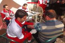 مسافران نوروزی در پایگاه های هلال احمر استان ایلام رایگان تست فشار خون می شوند