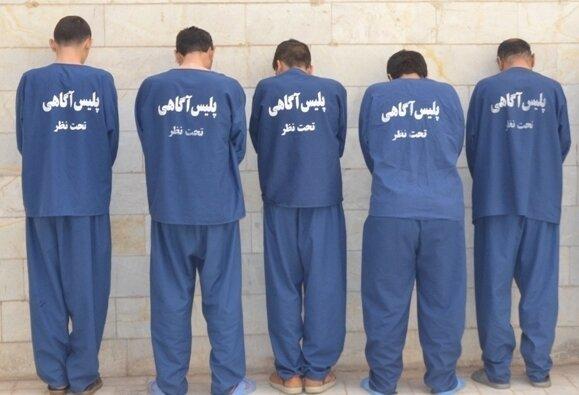 دستگیری 6 اخلالگر نظم و آرامش مردم نقده