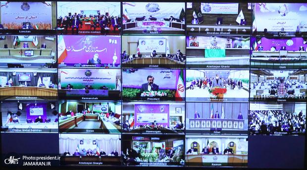 افتتاح طرحهای وزارت جهاد کشاورزی با دستور روحانی