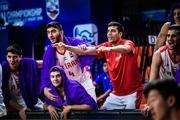 نخستین برد تیم ملی بسکتبال جوانان ایران در تورنمنت تایلند