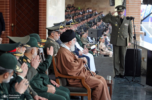 حضور و سخنرانی فرمانده معظم کل قوا در مراسم دانشآموختگی دانشجویان دانشگاههای افسری ارتش