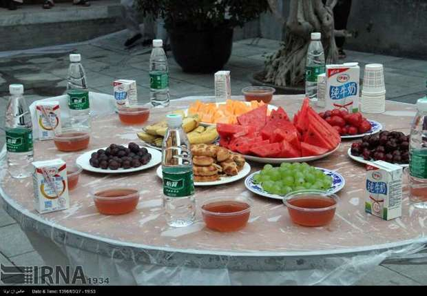 مراسم افطاری در مسجد «نان شیا» پکن+ تصاویر