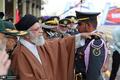 اهدای پرچم و نشان فداکاری به دانشگاه افسری امام علی(ع) ارتش