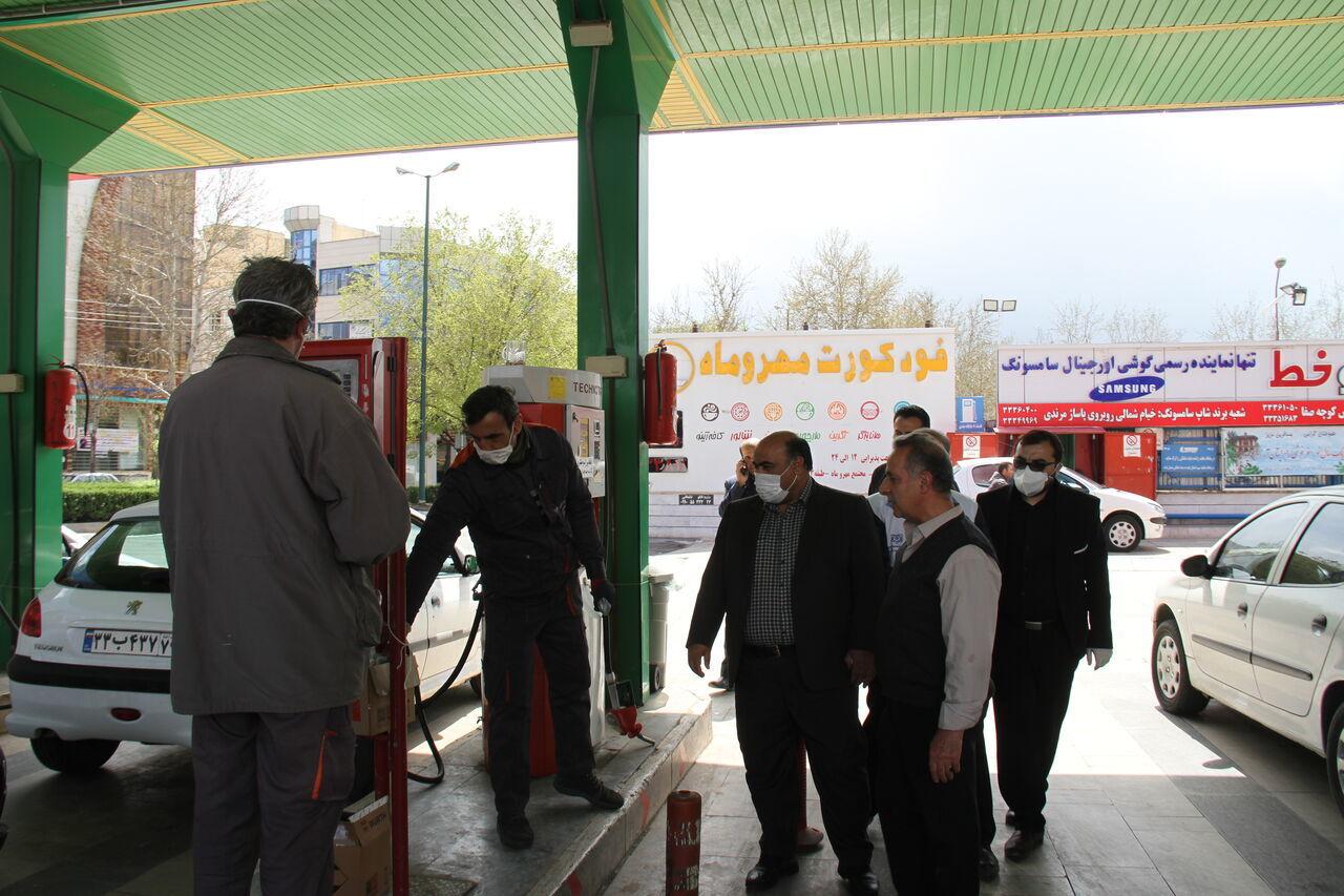 نظارت های بهداشتی در جایگاه های سوخت قزوین تشدید می شود