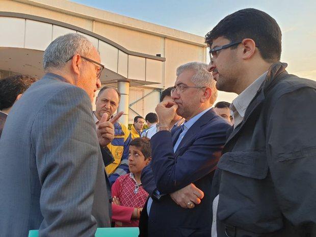 وزیر نیرو از مناطق سیل زده مازندران دیدن کرد