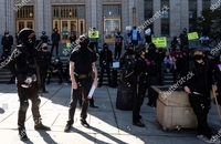 تظاهرات اتلانتا