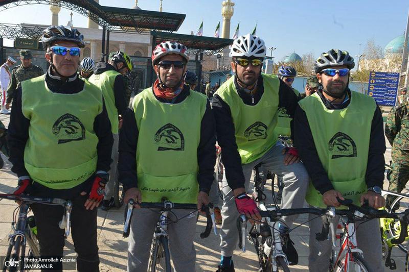 اولین تور دوچرخه سواری یگانهای ویژه ناجا