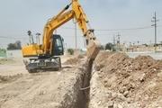 کاراحداث تصفیهخانه و شبکه جمعآوری فاضلاب روستایی در اهواز آغاز شد