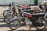 ۵۰ درصد موتورسیکلتهای یزد فاقد پلاک هستند