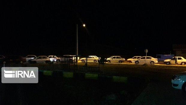 شایعه تعطیلی، مردم تکاب را شبانه راهی پمپ بنزینها کرد