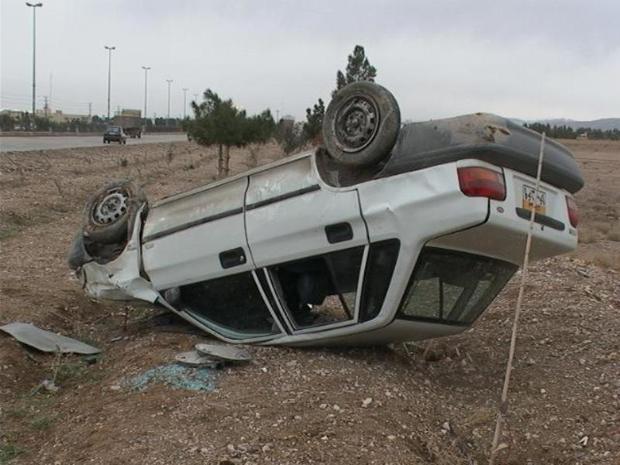واژگونی خودرو در سرپل ذهاب یک کشته برجا گذاشت