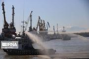 بوق کشتیها در بندر خرمشهر طنینانداز شد