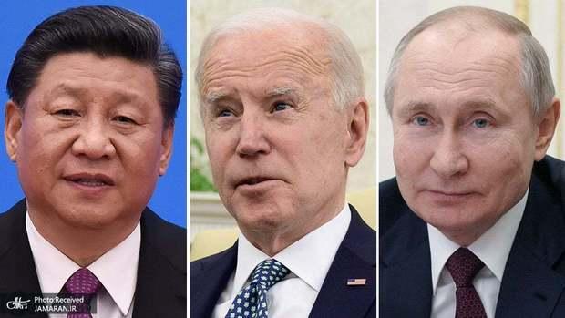 تقویت اتحاد پکن-مسکو، «گل به خودی» بایدن