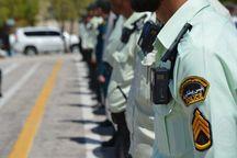 صبحگاه مشترک نیروی انتظامی در خوی برگزار شد