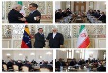 وزرای امور خارجه ایران و ونزوئلا دیدار کردند