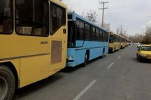 استفاده از ناوگان اتوبوسرانی قم کاهشیافته است