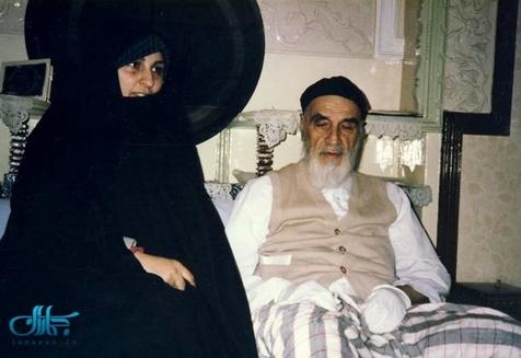 نصیحت نامه عارفانه امام خمینی به عروسشان