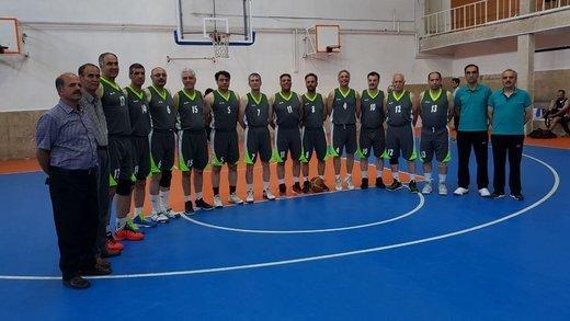 چهارمحال و بختیاری نائب قهرمان رقابت بسکتبال پیشکسوتان کشور شد