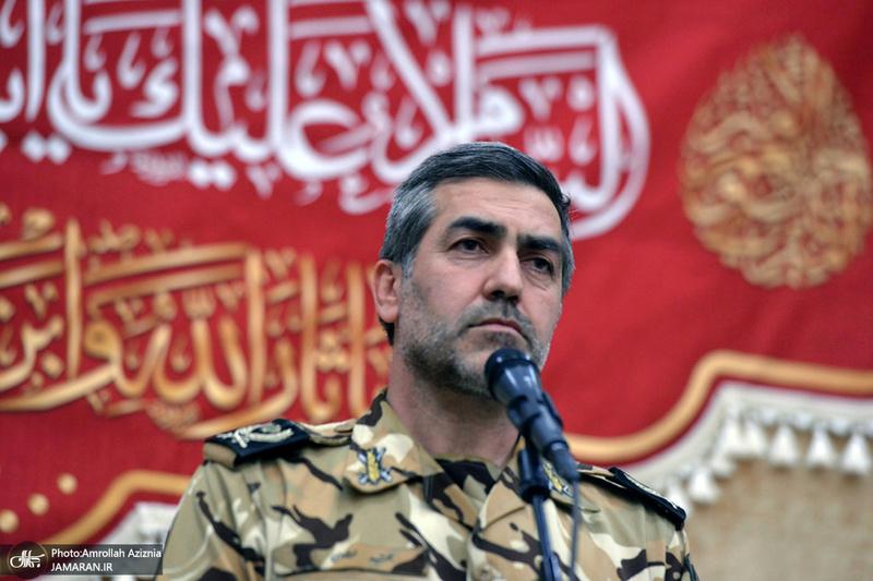 تجدید میثاق ورزشکاران ارتشی با آرمان های امام خمینی(س)