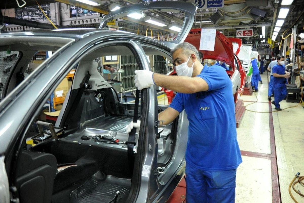 رشد 8.8. درصدی تولید خودرو در سال جاری