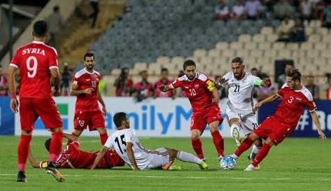 برد یک نیمه ای تیم ملی فوتبال مقابل سوریه