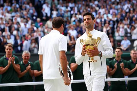 قهرمانان 2019 تنیس ویمبلدون را بشناسید + تصاویر/ رقابت هایی با 38 میلیون یورو جایزه!