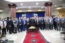 مراسم پنجاهمین سال تاسیس بهشت زهرا(س) در حرم امام خمینی