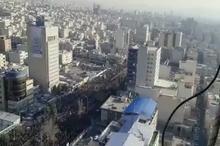 تصاویر هوایی از حضور حماسی میلیونی مردم تهران در مراسم وداع با سردار شهید حاج قاسم سلیمانی و همرزمان شهیدش