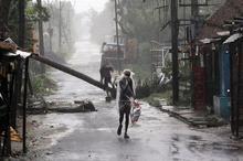 خسارتهای طوفان شدید در هند