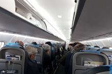 دو پرواز نوشهر و رامسر به مقصد تهران در فرودگاه یزد فرود آمدند