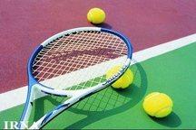مسابقات آزاد تنیس بزرگسالان مردان کشور در سمنان آغاز شد