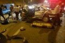 واژگونی پژو ۴۰۵ در کرمان سه کشته بر جا گذاشت