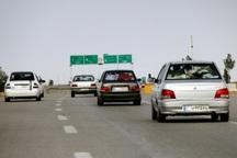 ترافیک محورهای سمنان در آخرین روز طرح نوروزی روان است