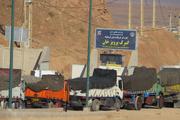 رفع مشکل صف طویل کامیون ها با بازگشایی مرزهای شوشمی و شیخ صله
