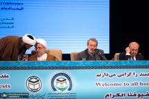 لاریجانی: مخالفتمان با عربستان و امارات بهدلیل رفتار جنایتکارانه آنها در یمن است/ ایران نیازی به هلال شیعی ندارد/ چپاول منطقه برای آمریکا یک مساله اصلی است