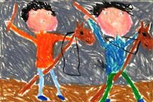 دیپلم افتخار مسابقه بینالمللی نقاشی اسپانیا در دستان کودک آذربایجانغربی