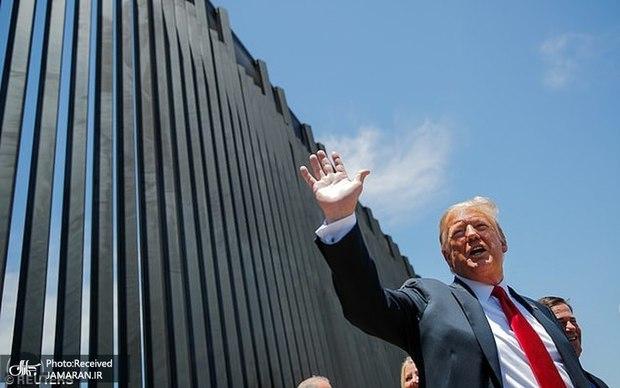 دیوار و رویای ترامپ با باد و بر باد رفت+ تصاویر