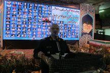 یادواره ۱۳۶ شهید رضوانشهر و یادبود سپهبد شهید سلیمانی برگزار شد