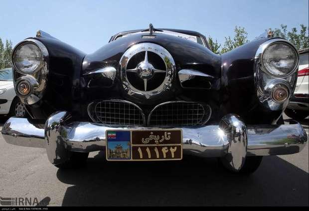 برپایی گردهمای خودروهای کلاسیک و امدادی در همدان