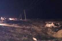 واژگونی زانتیا در شرق بجنورد 3 کشته داشت