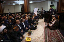 دیدار جامعه قرآنی کشور با سید حسن خمینی