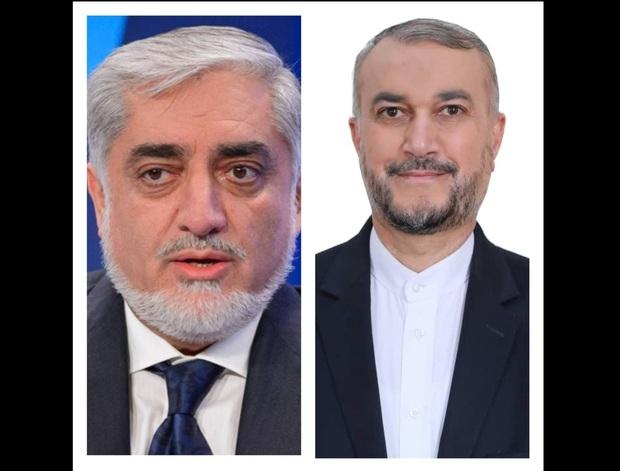 گفت وگوی تلفنی امیرعبداللهیان با عبدالله عبدالله در مورد تحولات افغانستان
