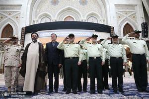 تجدید میثاق فرماندهان ناجا با آرمانهای حضرت امام(س)